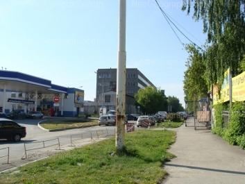 View to: Tsvilinga street, 3 (АЗС); Tsvilinga street, 7. Yekaterinburg (Sverdlovskaya oblast)