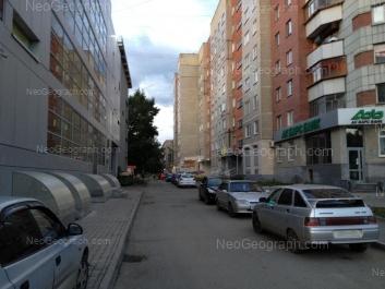 На фото видно: Уральская улица, 61А; Уральская улица, 65. Екатеринбург (Свердловская область)