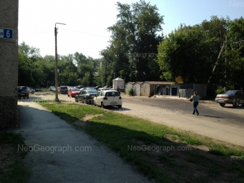 View to: Kirovgradskaya street, 14. Yekaterinburg (Sverdlovskaya oblast)