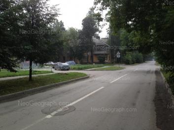 View to: Lobkova street, 8. Yekaterinburg (Sverdlovskaya oblast)