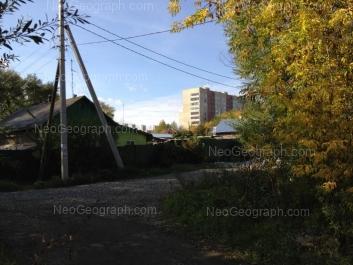 На фото видно: Водная улица, 21; Инженерная улица, 1; Инженерная улица, 1а. Екатеринбург (Свердловская область)