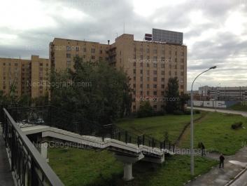 View to: Repina street, 17; Repina street, 19. Yekaterinburg (Sverdlovskaya oblast)