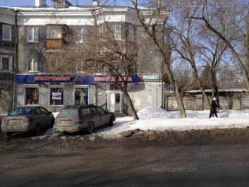 View to: Komsomolskaya street, 54. Yekaterinburg (Sverdlovskaya oblast)