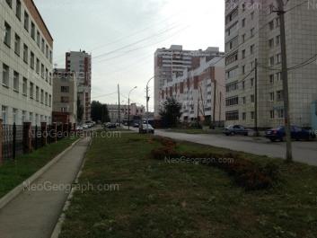 View to: Nagornaya street, 46; Nagornaya street, 48 (Детская городская больница №11); Nagornaya street, 49 (Татищев, жилой комплекс); Tatischeva street, 60; Tokarey street, 24. Yekaterinburg (Sverdlovskaya oblast)