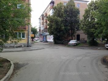 На фото видно: Космонавтов проспект, 43А; Космонавтов проспект, 45. Екатеринбург (Свердловская область)