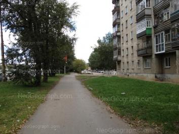 View to: Kommunisticheskaya street, 20. Yekaterinburg (Sverdlovskaya oblast)