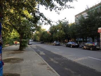 View to: Studencheskaya street, 15; Studencheskaya street, 17; Studencheskaya street, 19 (Гуманитарный университет). Yekaterinburg (Sverdlovskaya oblast)