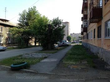 View to: Avangardnaya street, 9; Avangardnaya street, 10; Uralskikh Rabochikh street, 23. Yekaterinburg (Sverdlovskaya oblast)