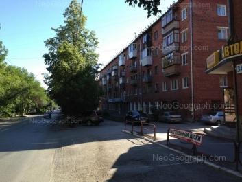 На фото видно: 40-летия Октября улица, 36. Екатеринбург (Свердловская область)