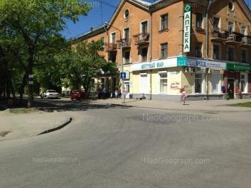 View to: Suvorovskiy lane, 12. Yekaterinburg (Sverdlovskaya oblast)