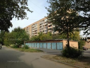 View to: Tatischeva street, 77. Yekaterinburg (Sverdlovskaya oblast)