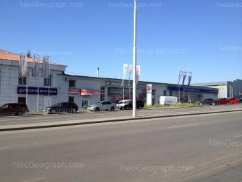 View to: Gurzufskaya street, 53; Posadskaya street, 10. Yekaterinburg (Sverdlovskaya oblast)