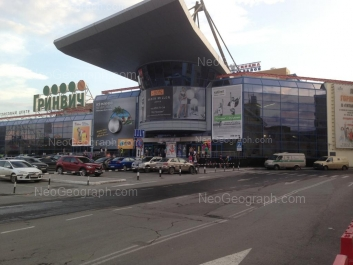 На фото видно: 8 Марта улица, 46 (ТРЦ Гринвич). Екатеринбург (Свердловская область)