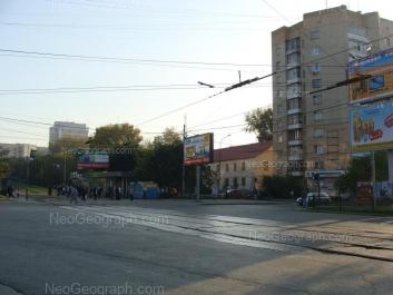 View to: Belorechenskaya street, 1А; Belorechenskaya street, 5; Posadskaya street, 29. Yekaterinburg (Sverdlovskaya oblast)