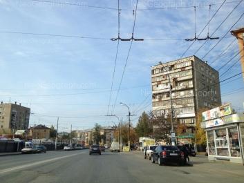 View to: Vosstaniya street, 5; Iliicha street, 52; Iliicha street, 54; Iliicha street, 71. Yekaterinburg (Sverdlovskaya oblast)