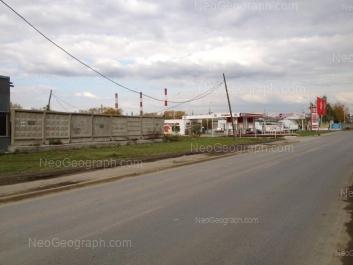 View to: Artinskaya street, 22б. Yekaterinburg (Sverdlovskaya oblast)