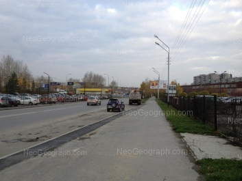 View to: Krestinskogo street, 33 (Школа №32); Krestinskogo street, 34. Yekaterinburg (Sverdlovskaya oblast)