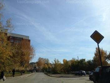 View to: Dizelniy lane, 31; Eskadronnaya street, 6; Eskadronnaya street, 15. Yekaterinburg (Sverdlovskaya oblast)