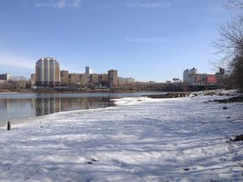 View to: Grazhdanskaya street, 11; Nekrasova street, 14; Nekrasova street, 16; Cheluskintsev street, 9. Yekaterinburg (Sverdlovskaya oblast)