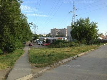 View to: Iliicha street, 71. Yekaterinburg (Sverdlovskaya oblast)