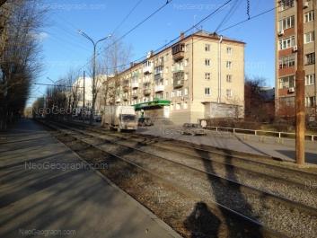 View to: Michurina street, 235. Yekaterinburg (Sverdlovskaya oblast)