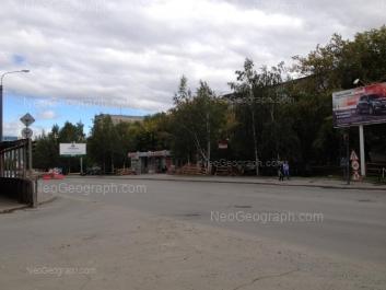 View to: Furmanova street, 59; Furmanova street, 61. Yekaterinburg (Sverdlovskaya oblast)
