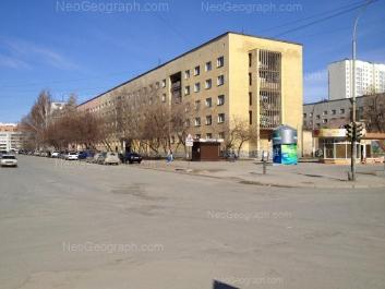 View to: Nadezhdinskaya street, 12А; Nadezhdinskaya street, 12; Nadezhdinskaya street, 14; Tavatuiskaya street, 12/1. Yekaterinburg (Sverdlovskaya oblast)