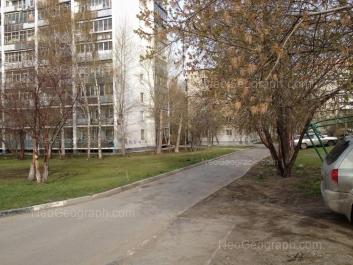 На фото видно: Белореченская улица, 7/1; Посадская улица, 28/2; Посадская улица, 28/1. Екатеринбург (Свердловская область)