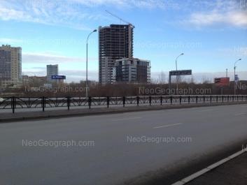 На фото видно: Ткачей улица, 23 (Clever Park, бизнес-центр). Екатеринбург (Свердловская область)