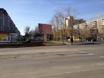 На фото видно: Амундсена улица, 50; Амундсена улица, 52; Амундсена улица, 53; Амундсена улица, 57. Екатеринбург (Свердловская область)