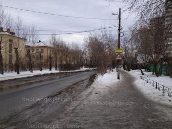 View to: Rastochnaya street, 12; Rastochnaya street, 17/2; Rastochnaya street, 17/1; Tekhnicheskaya street, 99. Yekaterinburg (Sverdlovskaya oblast)