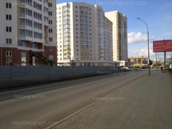 View to: Soiuznaya street, 2; Tsiolkovskogo street, 38. Yekaterinburg (Sverdlovskaya oblast)
