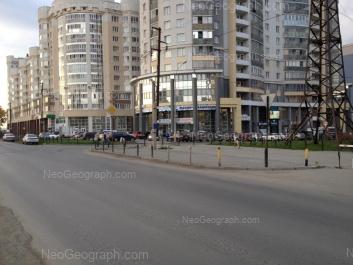 View to: Tatischeva street, 94; Tatischeva street, 96; Tatischeva street, 98. Yekaterinburg (Sverdlovskaya oblast)