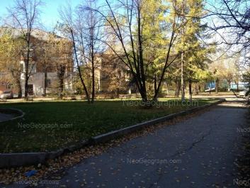 View to: Lomonosova street, 25; Pobedi street, 63; Uralskikh Rabochikh street, 67. Yekaterinburg (Sverdlovskaya oblast)