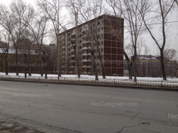 View to: Vostochnaya street, 20; Vostochnaya street, 22; Korolenko street, 14. Yekaterinburg (Sverdlovskaya oblast)