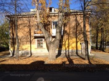 View to: 40-letiya Oktiabrya street, 53. Yekaterinburg (Sverdlovskaya oblast)