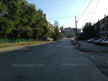 На фото видно: Восстания улица, 5; Ильича улица, 52; Ильича улица, 71. Екатеринбург (Свердловская область)