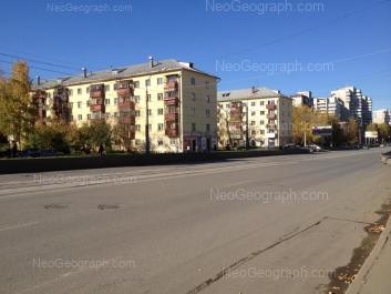 View to: Pobedi street, 13; Pobedi street, 15; Pobedi street, 31. Yekaterinburg (Sverdlovskaya oblast)