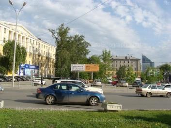 View to: 8 Marta street, 82; 8 Marta street, 84 (Центральная городская клиническая больница №6 ). Yekaterinburg (Sverdlovskaya oblast)