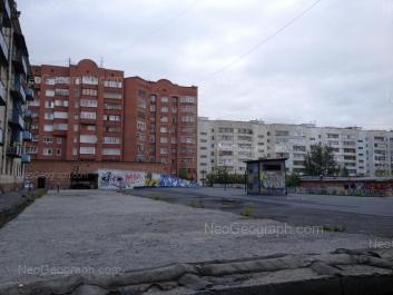 View to: Gurzufskaya street, 7; Moskovskaya street, 58. Yekaterinburg (Sverdlovskaya oblast)