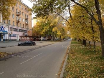 View to: Kirovgradskaya street, 11; Kirovgradskaya street, 13. Yekaterinburg (Sverdlovskaya oblast)