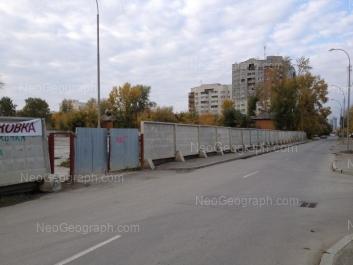 View to: Tatischeva street, 6. Yekaterinburg (Sverdlovskaya oblast)