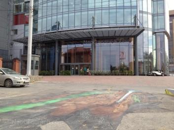 На фото видно: Малышева улица, 51 (Высоцкий, бизнес-центр). Екатеринбург (Свердловская область)