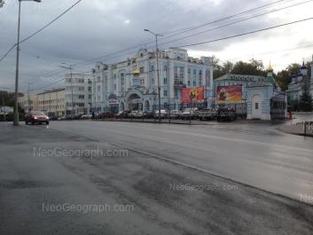 View to: Repina street, 6 (Екатеринбургская епархия Русской Православной Церкви). Yekaterinburg (Sverdlovskaya oblast)