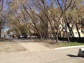 На фото видно: Посадская улица, 47. Екатеринбург (Свердловская область)