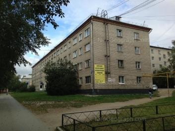 View to: Voennaya street, 8А. Yekaterinburg (Sverdlovskaya oblast)