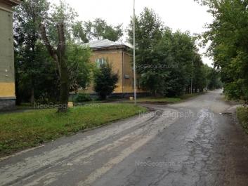 View to: Lomonosova street, 12. Yekaterinburg (Sverdlovskaya oblast)