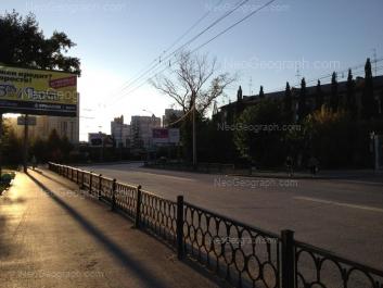 View to: Krasniy lane, 17; Nikolaya Nikonova street, 18; Nikolaya Nikonova street, 21. Yekaterinburg (Sverdlovskaya oblast)