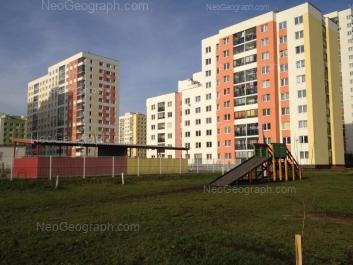 View to: Krasnolesiya street, 113; Krasnolesiya street, 121. Yekaterinburg (Sverdlovskaya oblast)