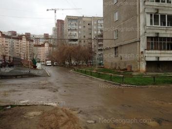 View to: Sovetskaya street, 46; Sovetskaya street, 52. Yekaterinburg (Sverdlovskaya oblast)